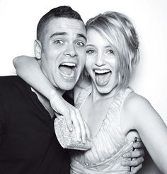 Mark Salling and Dianna Agron