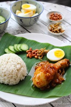Eat Your Heart Out: Recipe: Nasi lemak with Malaysian sweet chilli chicken