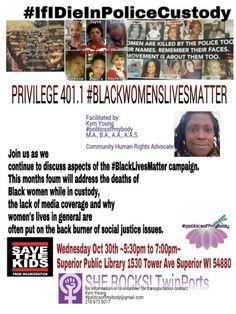 PRIVILEGE 401.1 #BLACKWOMENSLIVESMATTER
