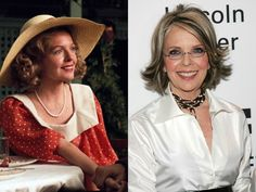 Since the many of the famous faces in the entertainment industry have changed. This begs the question: Just where are these most famous stars now? Diane Keaton, Stars Then And Now, Young Actors, Yesterday And Today, Famous Faces, S Star, Older Women, Girl Power, Movie Stars