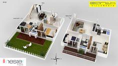 3D model of Villa