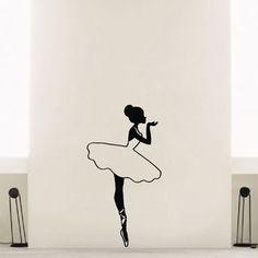 Our Best Vinyl Wall Art Deals Ballerina Ballet Dancer Vinyl Wall Art Decal Sticker inches x 35 inches), Black(Plastic) Ballerina Drawing, Dancer Drawing, Ballet Drawings, Dancing Drawings, Ballet Art, Ballet Dancers, Vinyl Wall Decals, Wall Stickers, Sticker Vinyl