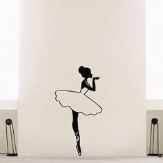 Shop for Ballerina Ballet Dancer Vinyl Wall Art Decal Sticker and more for everyday discount prices at Overstock.com - Your Online Art Gallery Store!