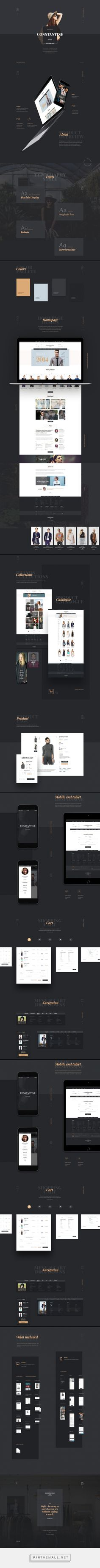 Constantine  Photoshop template for your e-Commerce project https://ui8.net/products/constantine - created via https://pinthemall.net