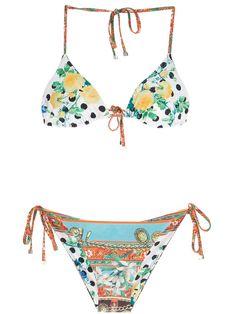 DOLCE & GABBANA DOLCE & GABBANA 'Sicily' print bikini