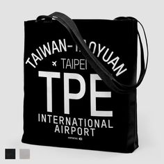 TPE Letters - Tote Bag