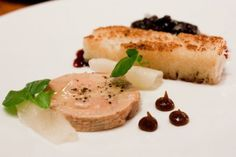 Chez Papa Resto: Foie Gras Duo, Foie Gras Torchon