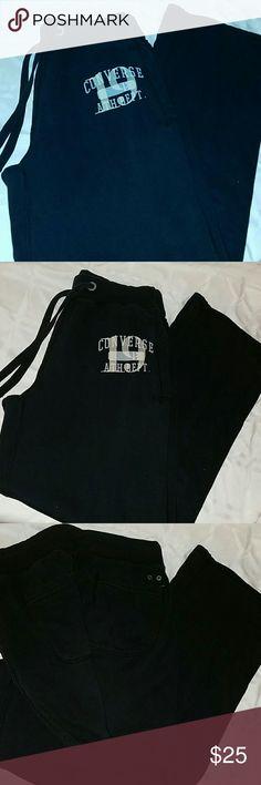 Mens Converse Athletic Sweatpants -large EUC- like new Converse Pants Sweatpants & Joggers