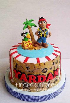 Boy Birthday Cakes  D Pirat Ship