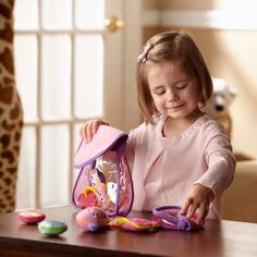 Melissa & Doug Pretty Purse Fill and Spill Soft Play Set Toddler Toy Play Number, Go Fit, American Academy Of Pediatrics, Soft Play, Melissa & Doug, Toddler Toys, Fisher Price, New Toys, Early Childhood