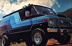 4x4 Van, Bedford Van, Chevrolet Van, Gmc Vans, Astro Van, Old School Vans, Van Car, Vanz, Bug Out Vehicle
