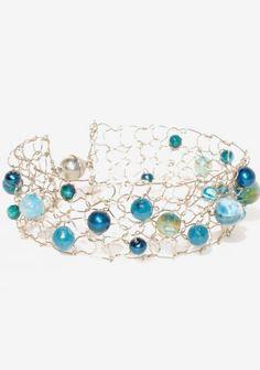 Deep Teal Cuff Bracelet