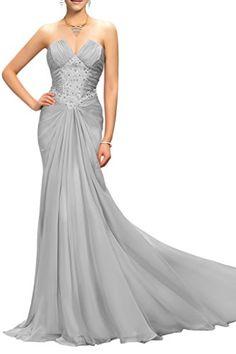 Prom Style Women's Prom Wedding Dresses Long Bridal Gowns Chiffon with Ruffles US 18w Silver Prom Style http://www.amazon.com/dp/B016COR5LE/ref=cm_sw_r_pi_dp_PLDKwb0FYM4EG