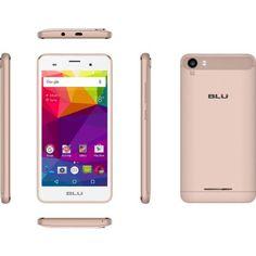 BLU Dash M2 D090U Smartphone (Unlocked), Pink