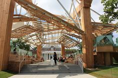 Serpentine Gallery (London) by Gehry