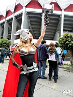 Rachel Ginger #Thor #Genderbender #cosplay