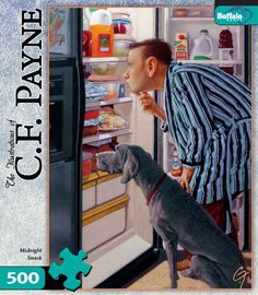 CF Payne: Midnight Snack 500 Pieces Jigsaw Puzzle Buffalo Games