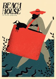 beach house | poster on Behance