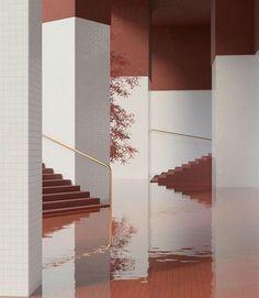Amazing Design by Alexis Christodoulou # Colour Architecture, Interior Architecture, Interior And Exterior, Interior Design, Licht Box, Decoration, Event Design, House Design, Contemporary
