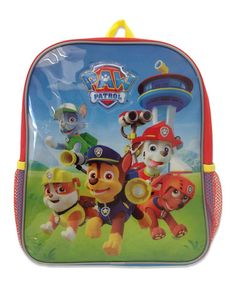 Look what I found on #zulily! Paw Patrol Rescue Pups Backpack #zulilyfinds