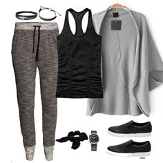 Grey Batwing Sleeve Loose Knit Top (dem pants)