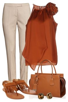 """""""HUMP DAY OUTFIT"""" by arjanadesign ❤ liked on Polyvore featuring H&M, Pinko…"""
