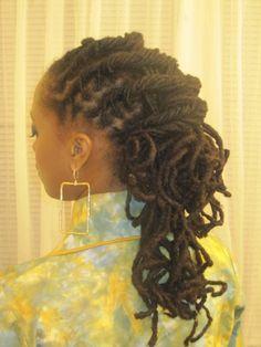 Twist and Curls Loc Styles