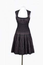Романтика 50х - черное платье крючком от Azzedine Ala&#