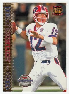 Jim Kelly # 316 - 1995 Pacific Football