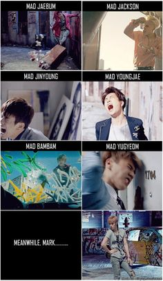Mark is too fabulous to be MAD! (credit: oneday-everlasting) | allkpop Meme Center