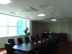Conference room with tubular skylights. Enjoy the natural daylight.