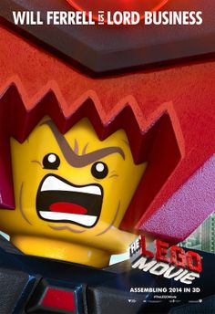 The LEGO Movie (2014) Character Posters #TheLEGOMovie >>> saw this movie last night! It was so cute!