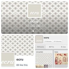 Follow @ecru for beautiful homeware products, vibrant colors, and amazing prints. designed by the talented @Nur Noon
