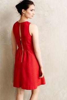 Lattice Neck Dress by Maeve - anthropologie.com