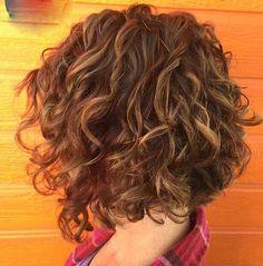 Curly Bob Hair Cut
