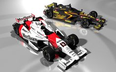 Wow. I would love to see the return of Marlboro sponsoring Penske! This rendering by DanSanfy13, via Flickr, looks amazing!