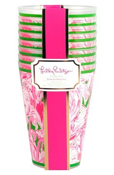 Lilly Pulitzer® Tumblers (Set of 8) available at #Nordstrom