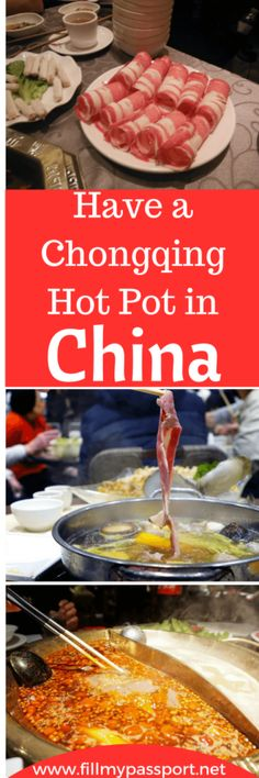 Do you enjoy hot spicy soup? Well the hot pot in Chongqing is not only delicious, but also a significant experience and element of the region's locals. Lifelong memories are created around a hot pot! Check out our post on this incredible Chinese meal. #chinatravel #chinatips #chongqing
