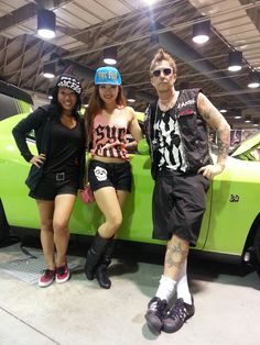 Pomona Fairplex Body Art Expo, Ba Ba Austin - Vintage Tattoo Art Parlor, Phillip Spearman - Inkworks Tattoo, Syc Fuk, Dodge Challenger #DodgeStreetTeam ...
