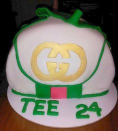 """I made this cake for my youngest daughter.  """"If you can't carry the real thing, eat the best thing!"""" LOL"""