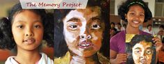 The Memory Project- students paint a portrait of a child in an orphanage that is then mailed to them-awesome community lesson!! Human dignity, being grateful for what we have, etc.