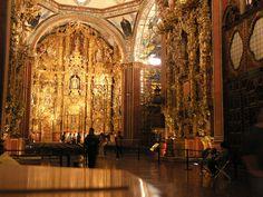 Templo de San Francisco Javier. Lo más impresionante del Museo Nacional del Virreinato.