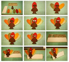 Bits of Paper: Thanksgiving Place Card
