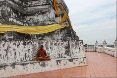 Wat Phu Khao Thong temple in Ayutthaya, Thailand - World Adventurers [14 photos]