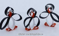 25 homemade penguin craft