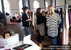 Für die Fashion-Kunden bei den German Press Days in Berlin
