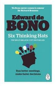 Meetings are a crucial part of all our lives, but too often they go nowhere and waste valuable time. In Six Thinking Hats, Edward de Bono shows how meetings can be transformed to produce quick, decisive results every time. The Six Hats method is a devastatingly simple technique based on the brain's different modes of thinking. The intelligence, experience and information of everyone is harnessed to reach the right conclusions quickly. Penguin Life, Penguin Books, Got Books, Books To Read, Six Thinking Hats, Lateral Thinking, What To Read, Classic Books, Creative Thinking