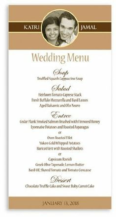 145 Wedding Menu Cards - Sophisticate Dove Grey 'High' by WeddingPaperMasters.com. $105.85. Now you can have it all! We have created, at incredible prices & outstanding quality, more than 300 gorgeous collections consisting of over 6000 beautiful pieces that are perfectly coordinated together to capture your vision without compromise. No more mixing and matching or having to compromise your look. We can provide you with one piece or an entire collection in a o...