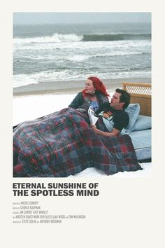 eternal sunshine of the spotless mind Poster Poster. movie poster for eternal sunshine of the spotless mind Iconic Movie Posters, Minimal Movie Posters, Cinema Posters, Movie Poster Art, Poster S, Iconic Movies, Poster Prints, Poster Wall, Beau Film
