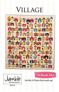 Village Quilt Pattern Miss Rosie's Quilt Company #RQC-701 - Pat's Picks | Fat Quarter Shop